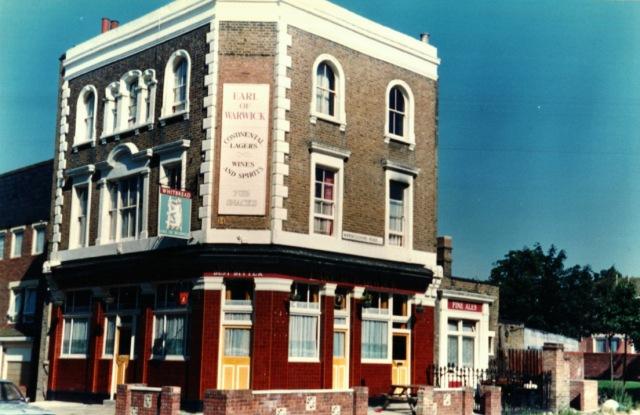 1988 - Earl of Warwick pub, 9 Beatty Road, Stoke Newington